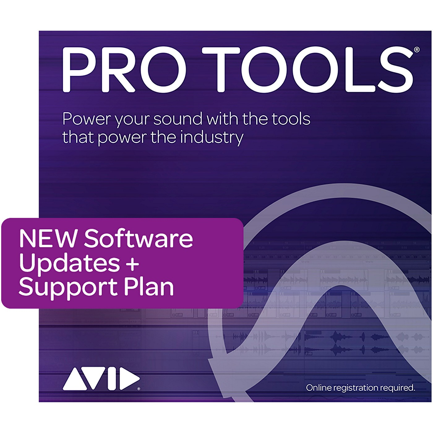 Avid 1-Year Update/Support Pro Tools Perpetual (Boxed) thumbnail