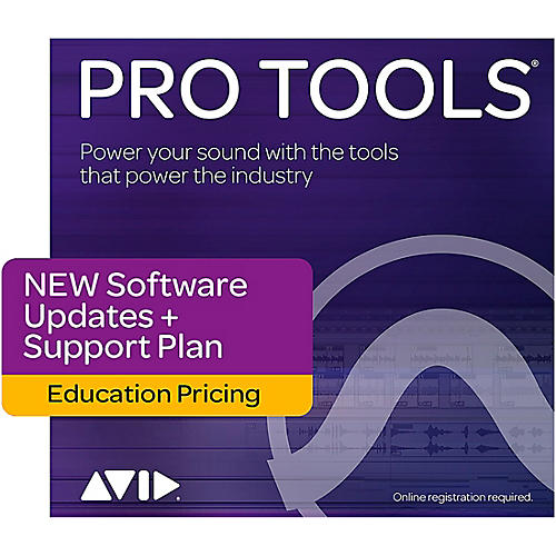 Avid 1-Year Updates + Support Plan for Pro Tools Teachers/College Student (Boxed) thumbnail