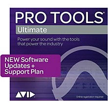 Avid 1-Year Updates + Support for Pro Tools | Ultimate Perpetual License Expired Plan (Boxed)