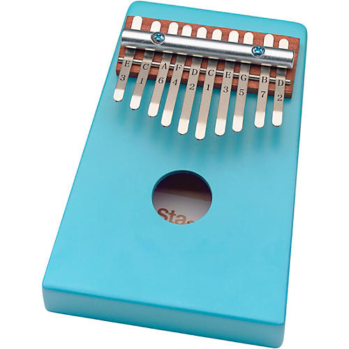 Stagg 10-Key Kid's Kalimba with Note Names Printed on Keys thumbnail