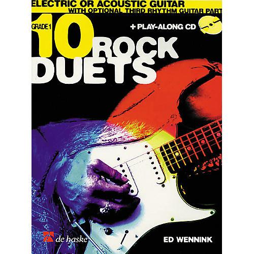 De Haske Music 10 Rock Duets (Book/CD) thumbnail