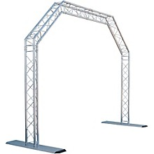 GLOBAL TRUSS 10 x 8 ft. Mobile Arch Goal Post Truss System