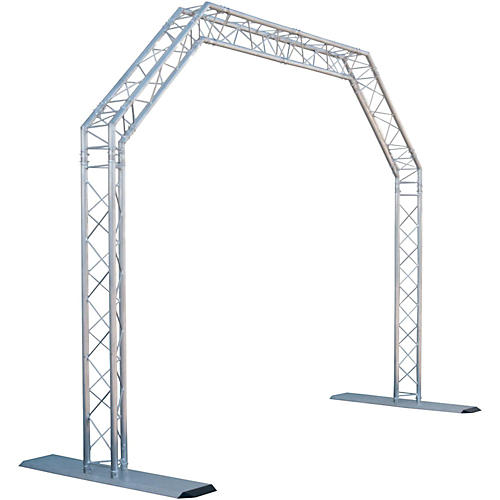 GLOBAL TRUSS 10 x 8 ft. Mobile Arch Goal Post Truss System thumbnail