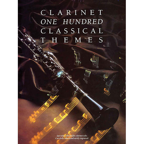 Music Sales 100 Classical Themes for Clarinet Music Sales America Series thumbnail
