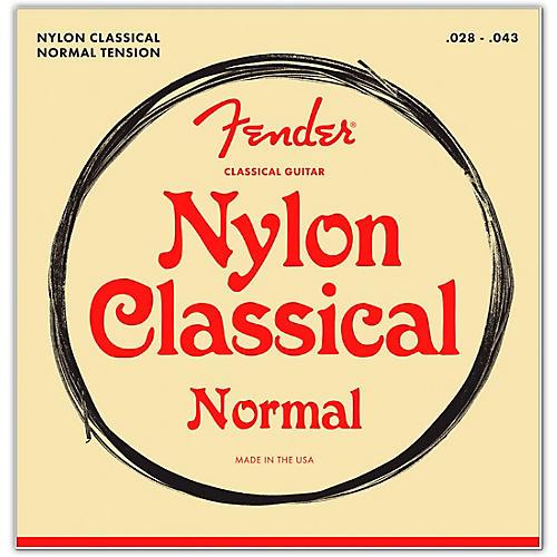 Fender 100 Clear/Silver Nylon Classical Guitar Strings - Tie End thumbnail
