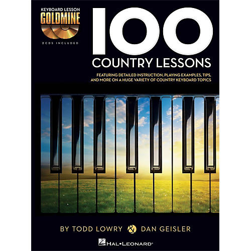 Hal Leonard 100 Country Lessons - Keyboard Lesson Goldmine Series Series Book/2-CD Pack thumbnail