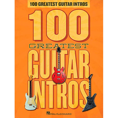 Hal Leonard 100 Greatest Guitar Intros thumbnail