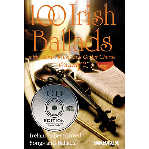 Waltons 100 Irish Ballads - Volume 2 Waltons Irish Music Books Series Softcover with CD thumbnail
