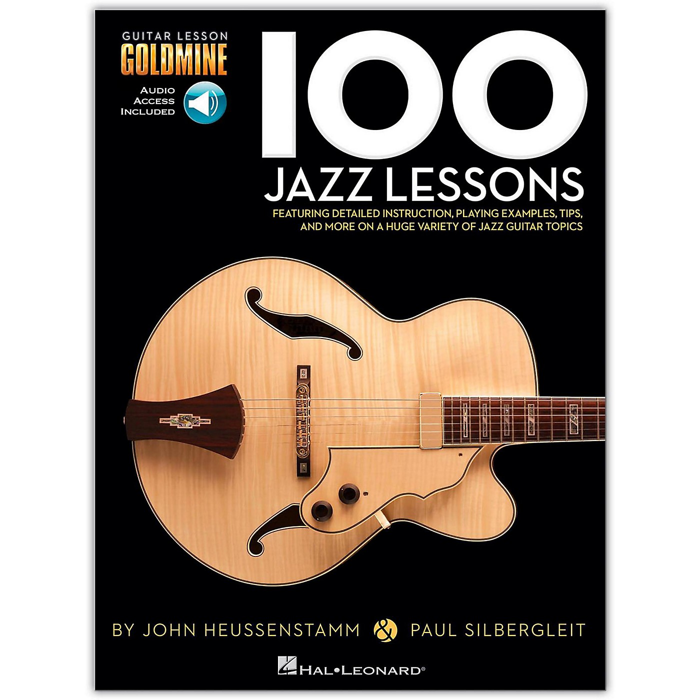 Hal Leonard 100 Jazz Lessons Goldmine Series (Book/Online Audio) thumbnail
