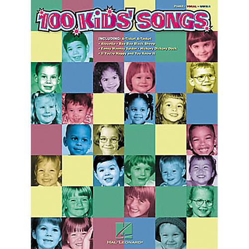 Hal Leonard 100 Kids' Songs Piano, Vocal, Guitar Songbook-thumbnail