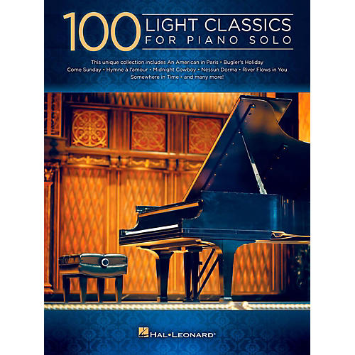 Hal Leonard 100 Light Classics For Piano Solo thumbnail