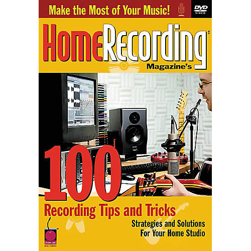 Cherry Lane 100 Recording Tips and Tricks Book thumbnail