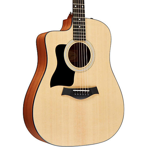 Taylor 100 Series 110ce Left-Handed Dreadnought Acoustic-Electric Guitar thumbnail