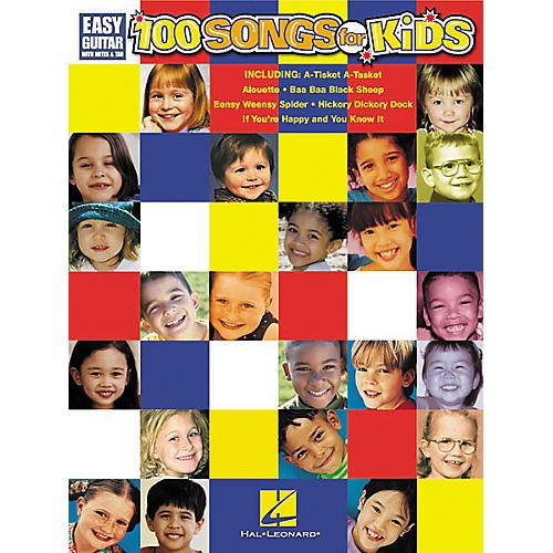Hal Leonard 100 Songs for Kids Guitar Songbook-thumbnail