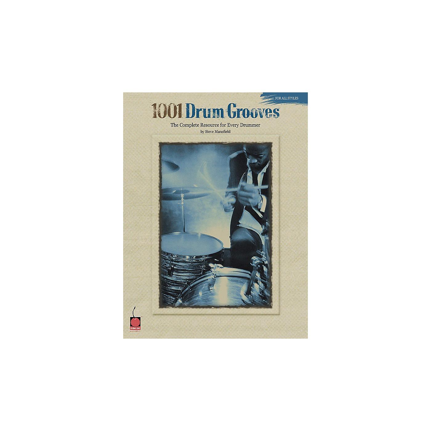 Cherry Lane 1001 Drum Grooves - Book thumbnail