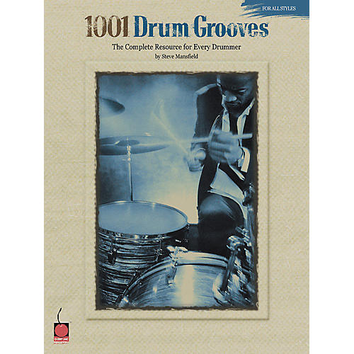 Cherry Lane 1001 Drum Grooves - Book thumbnail