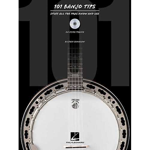 Hal Leonard 101 Banjo Tips Book/CD-thumbnail