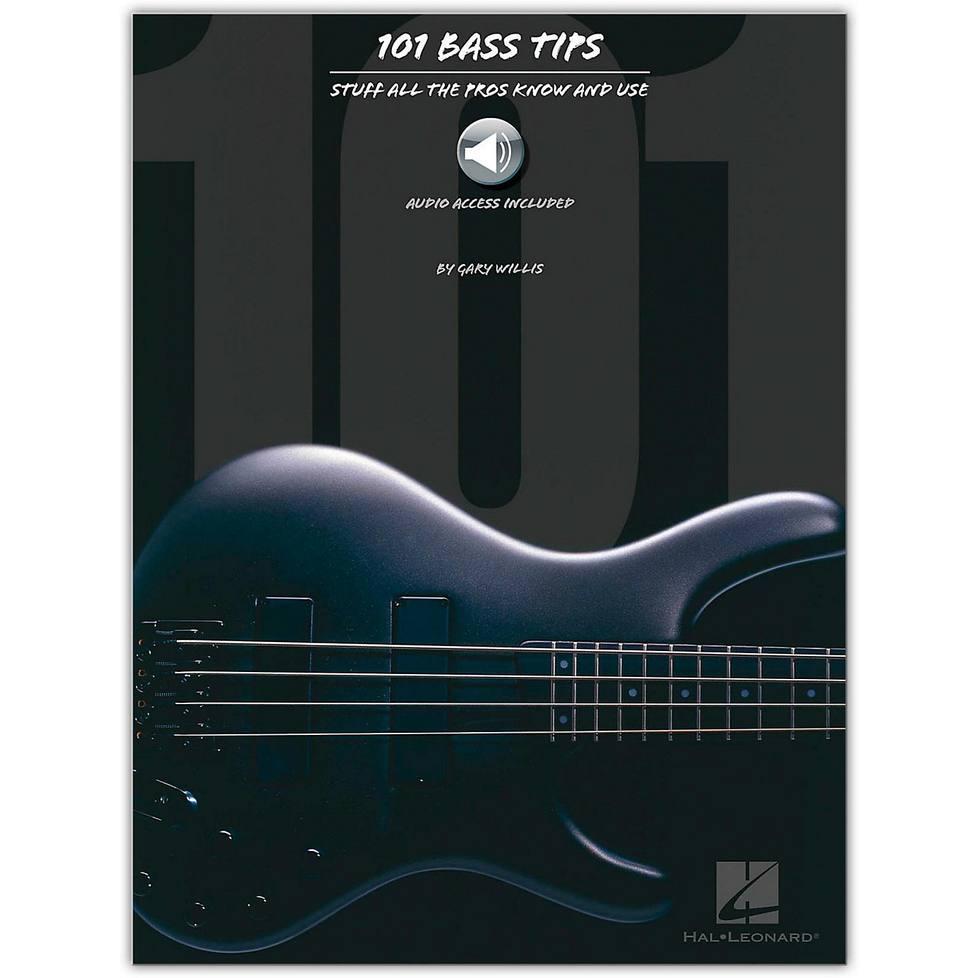 Hal Leonard 101 Bass Tips of the Pros (Book/Online Audio) thumbnail
