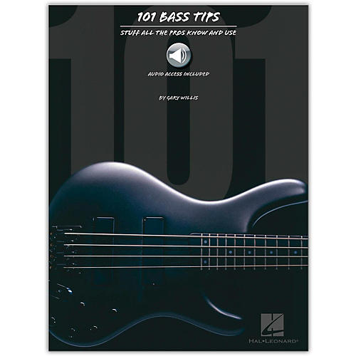 Hal Leonard 101 Bass Tips of the Pros (Book/Online Audio)-thumbnail
