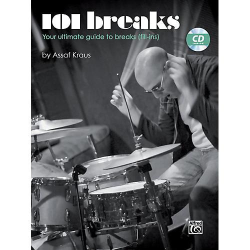 Alfred 101 Breaks Drum Book & CD thumbnail