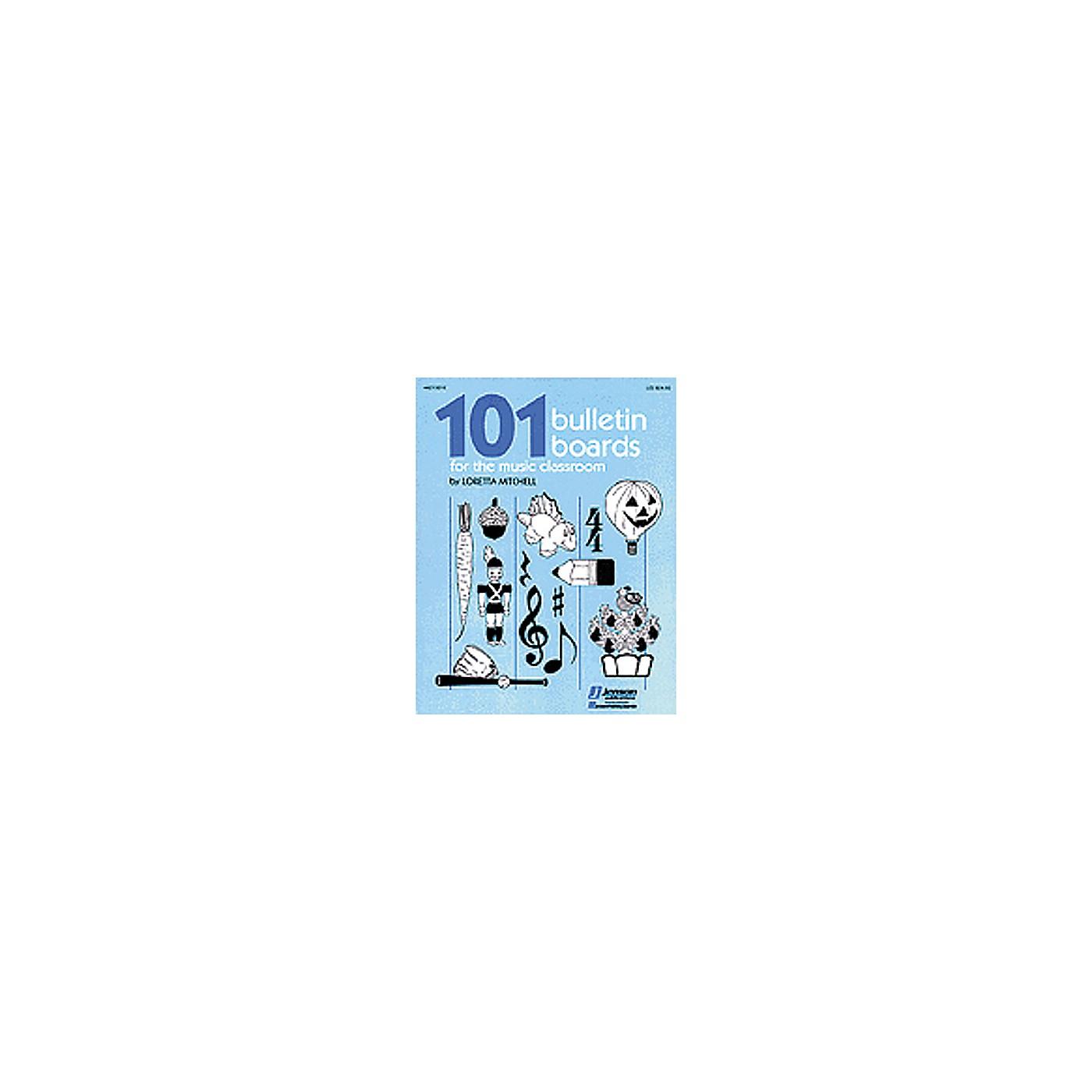 Hal Leonard 101 Bulletin Boards For the Music Classroom Book thumbnail