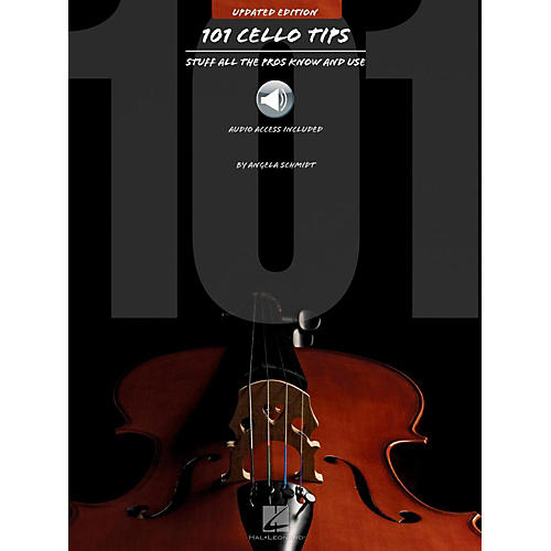 Hal Leonard 101 Cello Tips - Stuff All The Pros Know and Use (Book/Audio) thumbnail