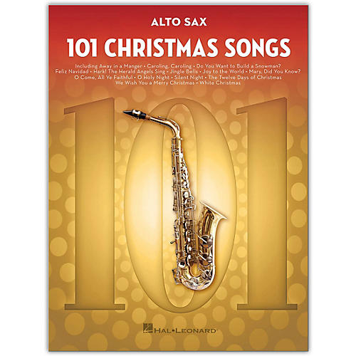 Hal Leonard 101 Christmas Songs for Alto Sax thumbnail