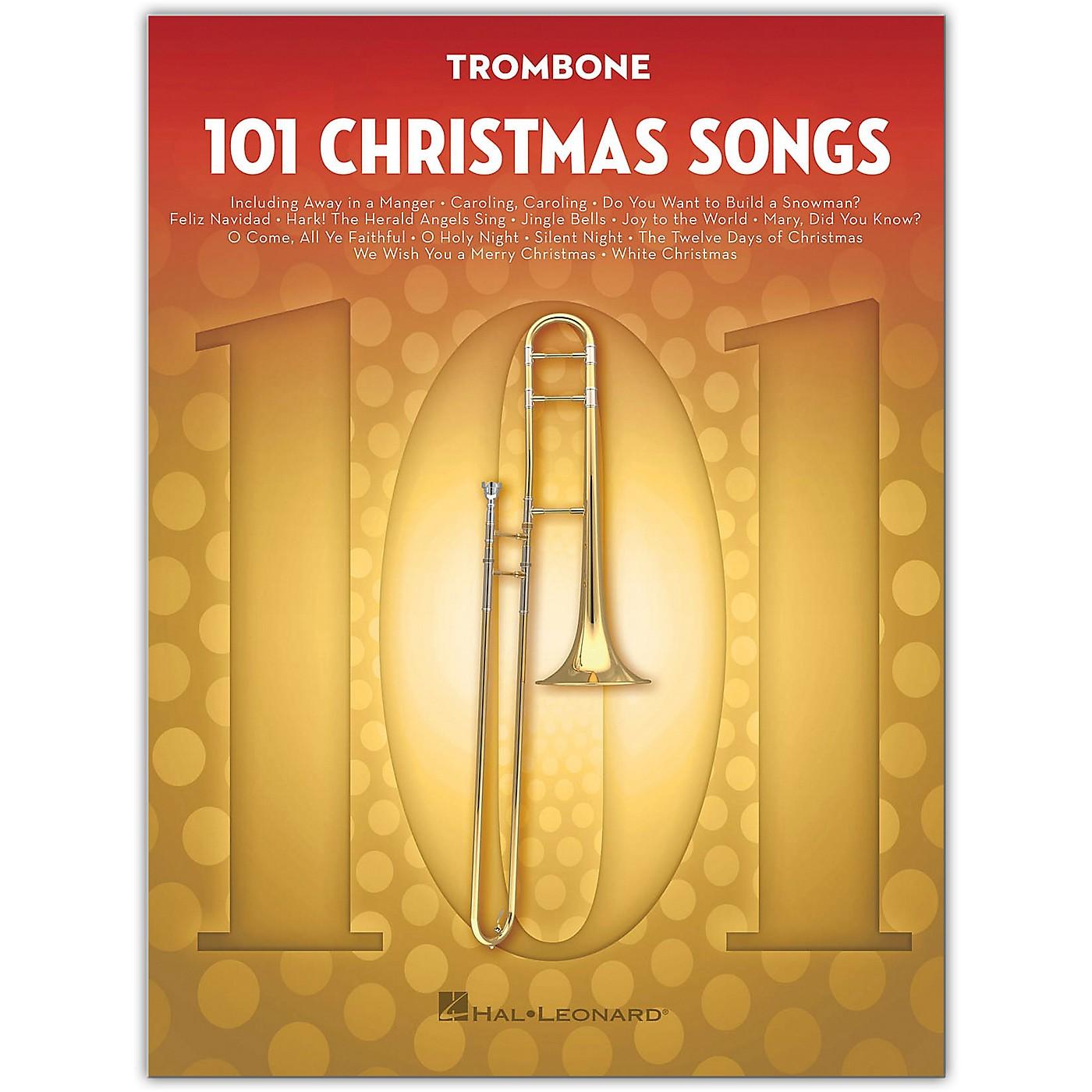 Hal Leonard 101 Christmas Songs for Trombone thumbnail