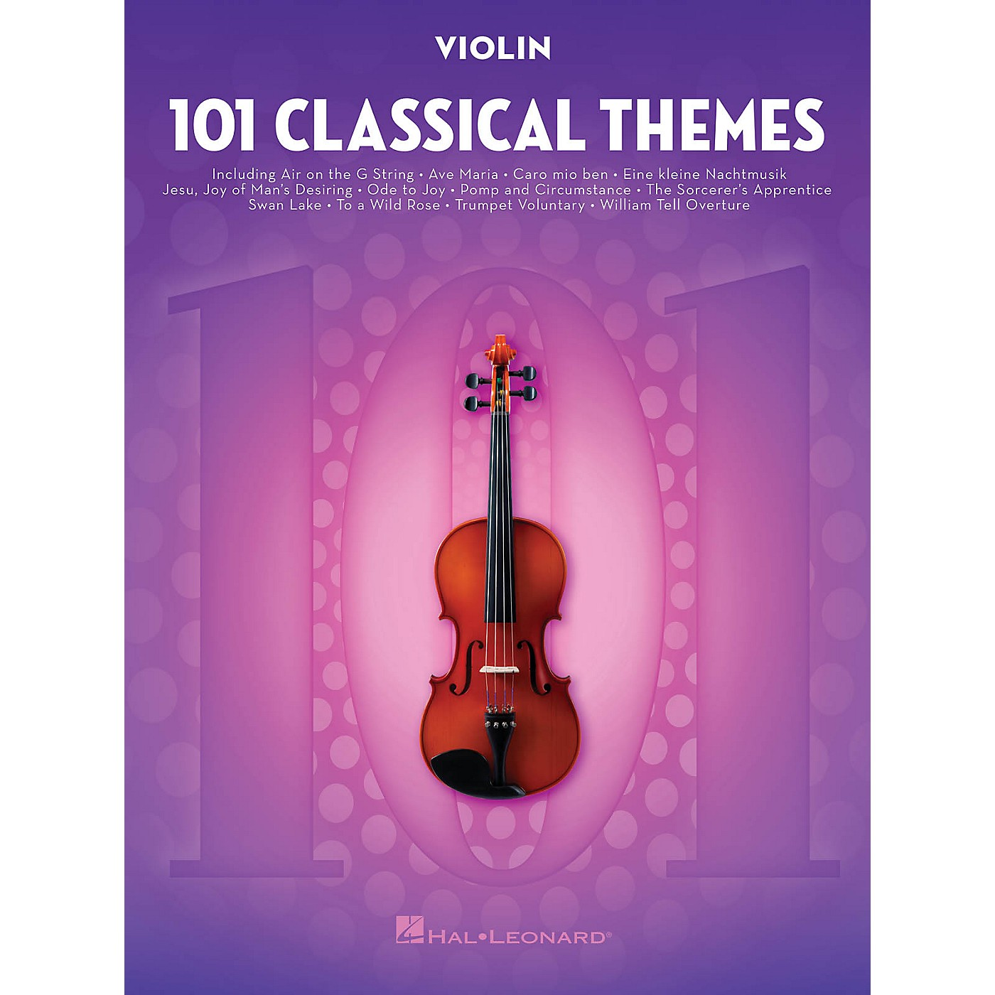 Hal Leonard 101 Classical Themes for Violin Instrumental Folio Series Softcover thumbnail