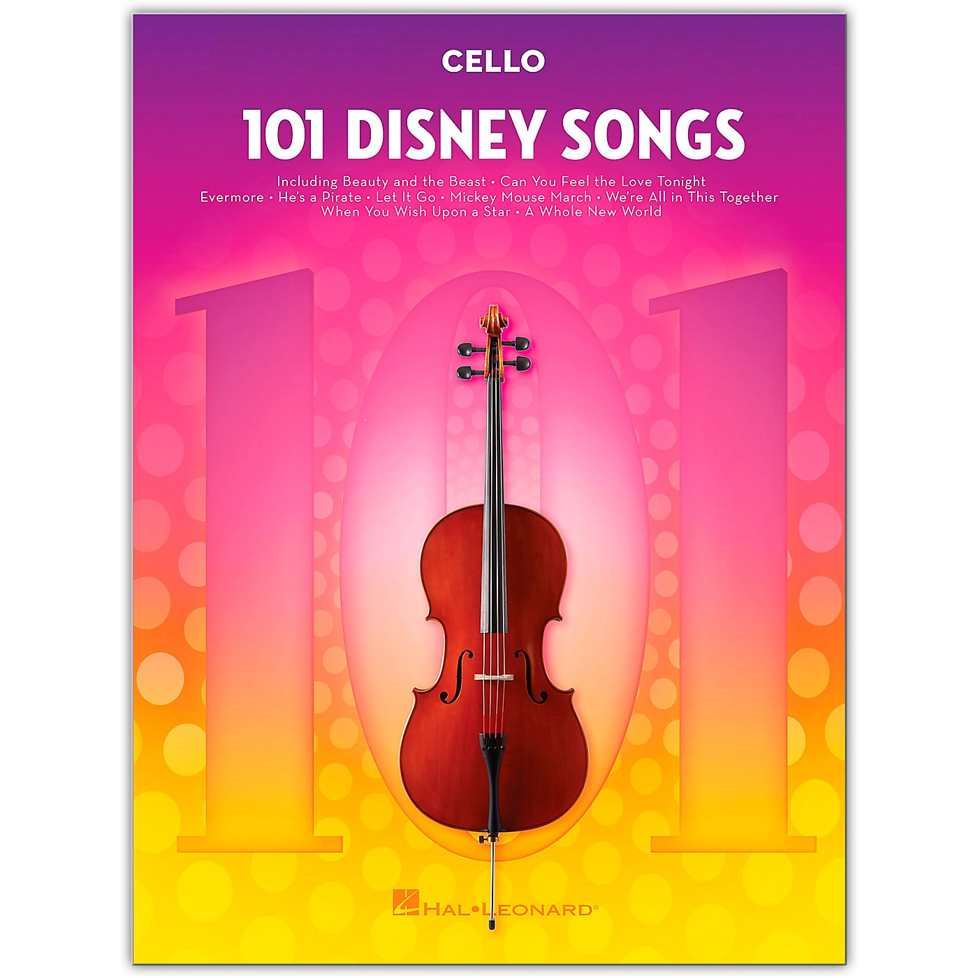 Hal Leonard 101 Disney Songs  for Cello thumbnail