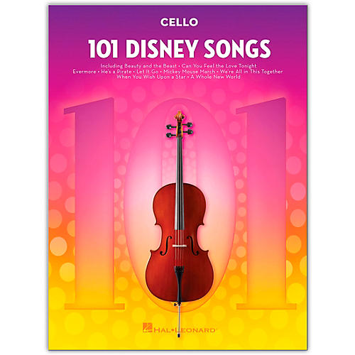 Hal Leonard 101 Disney Songs  for Cello thumbnail