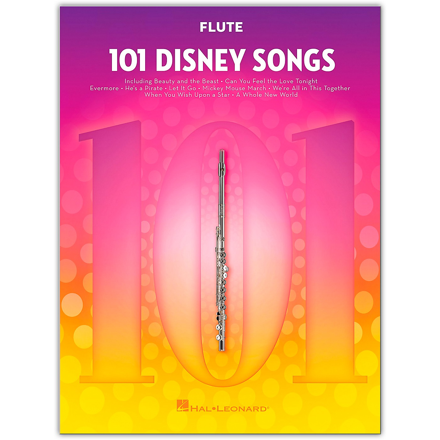 Hal Leonard 101 Disney Songs  for Flute thumbnail