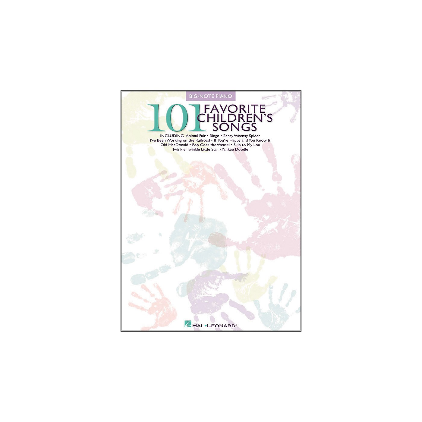 Hal Leonard 101 Favorite Children's Songs for Big Note Piano thumbnail