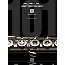 Hal Leonard 101 Flute Tips - Stuff All The Pros Know And Use Book/CD