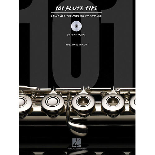 Hal Leonard 101 Flute Tips - Stuff All The Pros Know And Use Book/CD thumbnail