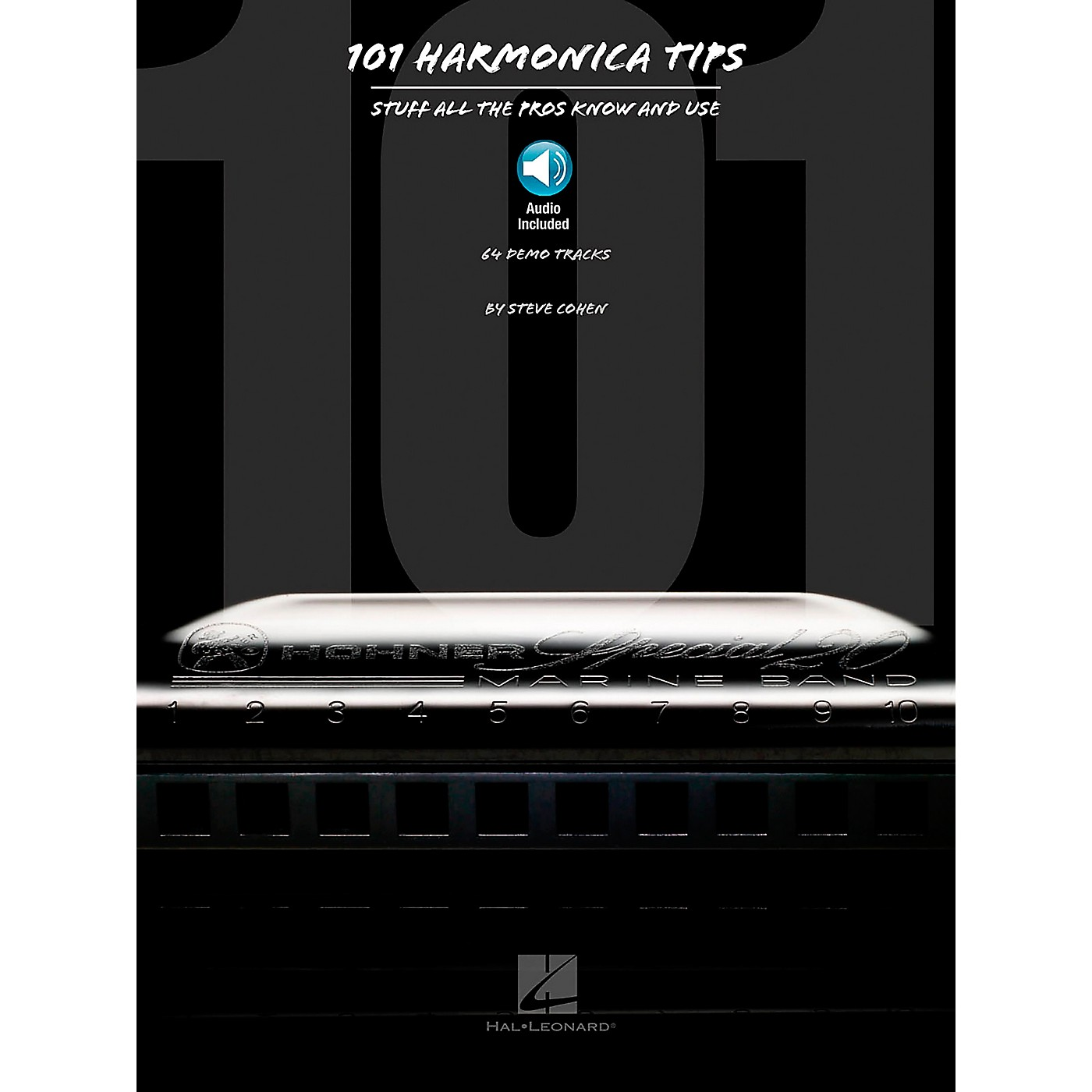 Hal Leonard 101 Harmonica Tips - Stuff All The Pros Know And Use (Book/Online Audio) thumbnail