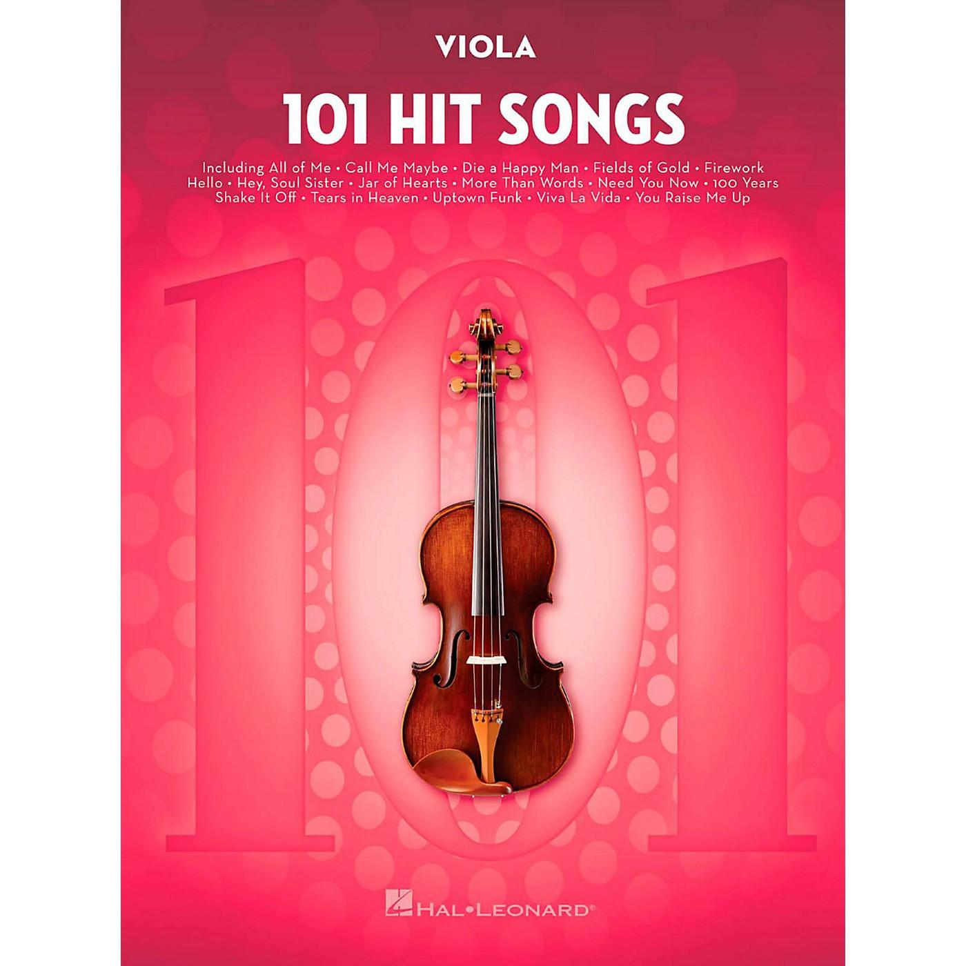 Hal Leonard 101 Hit Songs - Viola thumbnail