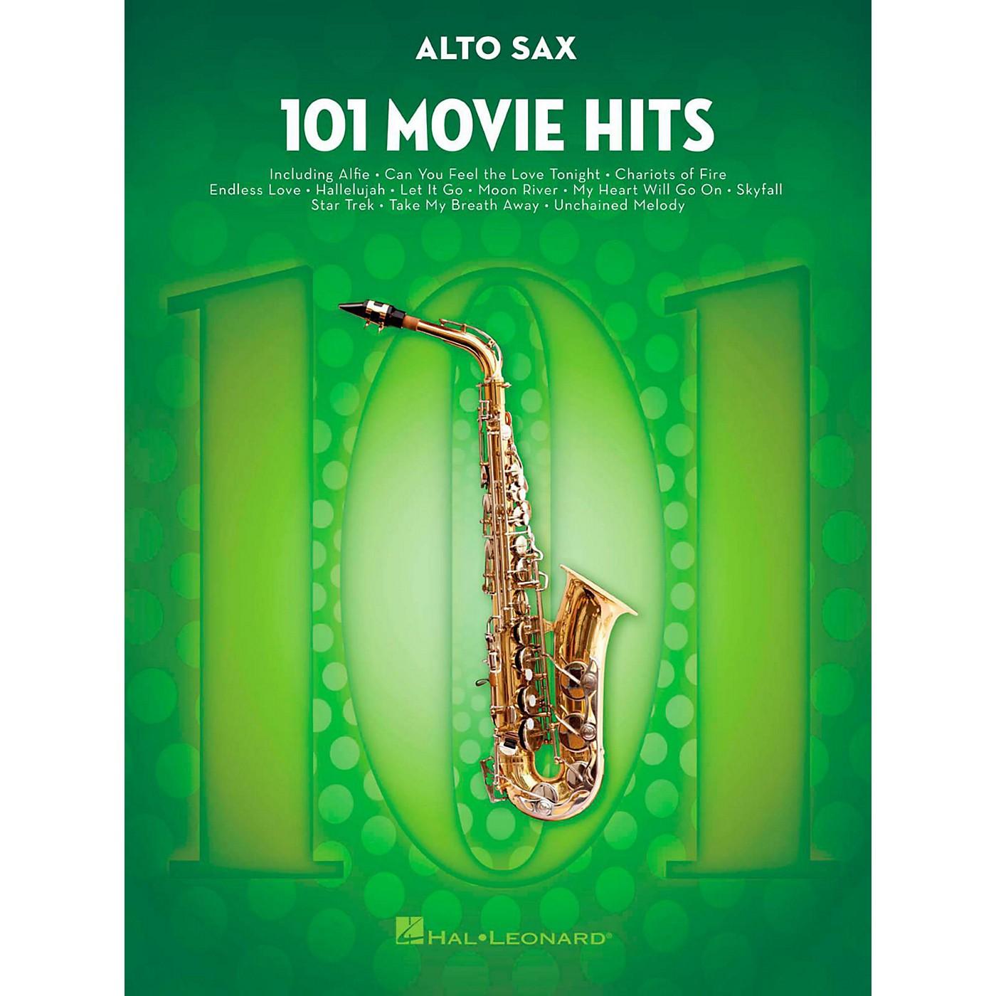 Hal Leonard 101 Movie Hits - Alto Sax thumbnail