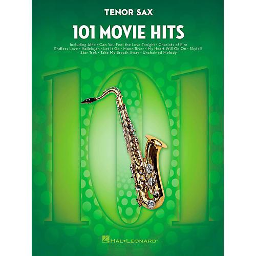Hal Leonard 101 Movie Hits - Tenor Sax thumbnail