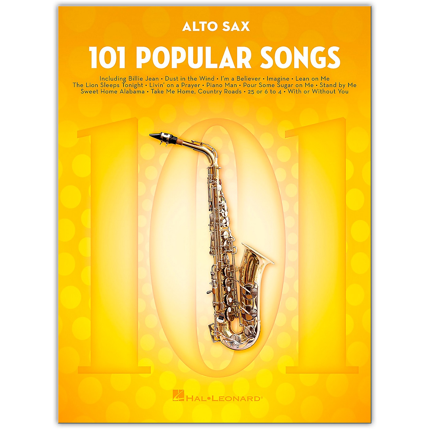 Hal Leonard 101 Popular Songs for Alto Sax thumbnail