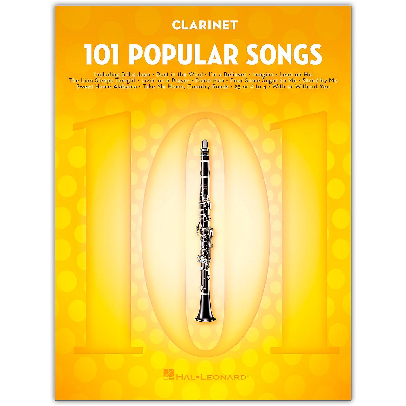 Hal Leonard 101 Popular Songs for Clarinet thumbnail