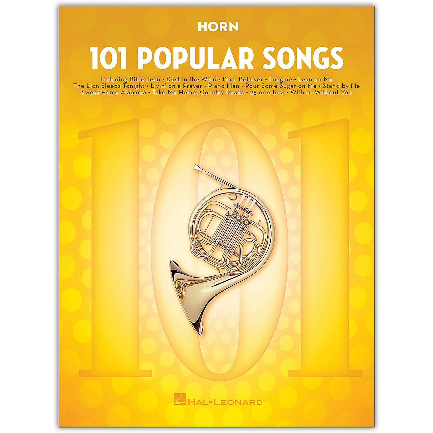 Hal Leonard 101 Popular Songs for Horn thumbnail