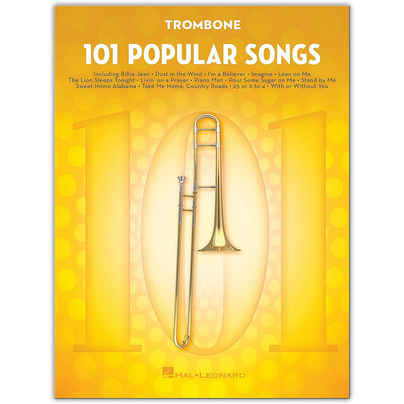 Hal Leonard 101 Popular Songs for Trombone thumbnail