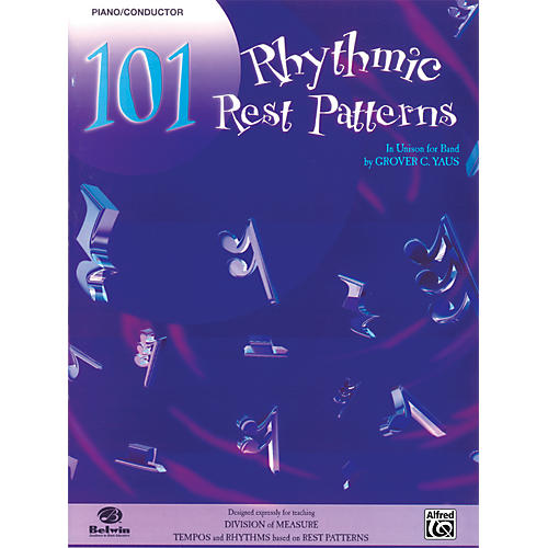 Alfred 101 Rhythmic Rest Patterns Conductor (Piano) thumbnail