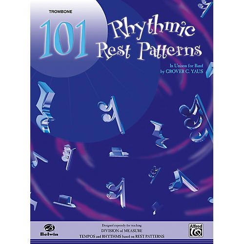 Alfred 101 Rhythmic Rest Patterns Trombone thumbnail