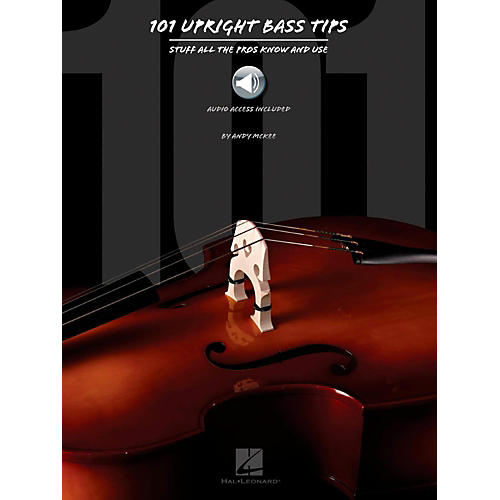 Hal Leonard 101 Upright Bass Tips - Stuff All The Pros Know and Use Book w/ Online Audio thumbnail