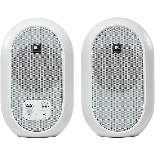 JBL 104-BTW Compact Reference Monitors with Bluetooth White thumbnail