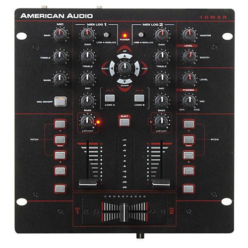 American Audio 10MXR 2-Channel MIDILOG DJ Mixer thumbnail