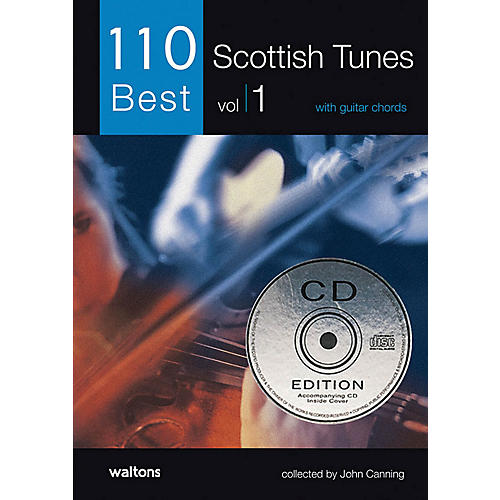 Waltons 110 Best Scottish Tunes (with Guitar Chords) Waltons Irish Music Books Series Softcover with CD thumbnail