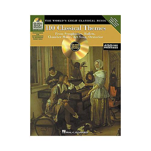 Hal Leonard 110 Classical Themes CD-ROM Sheet Music-thumbnail
